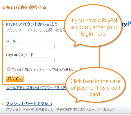 6. PayPal payment